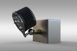 newnight 3lens pin led magnetic spotlight