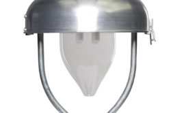 Rodan Aufsatzleuchte Braun LED